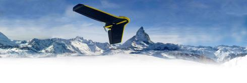 Fixed Wing Drone: eBee